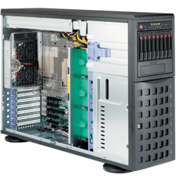 Tower Server - Supermicro SuperServer 7048R-C1R4+ Dual Xeon® E5-2600 v4 SAS/SATA 4U Rackmount / Tower Server Computer
