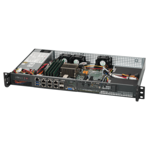 Supermicro® SuperServer 5018D-FN8T Xeon® D-1518 Server System