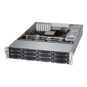 6028R-E1CR12L Xeon® E5-2600 v4 SATA/SAS/NVMe SuperStorage Server System