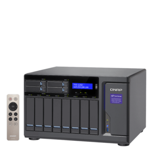 TVS-1282 Intel® Core™ i3-6100 12-Bay SATA NAS Server Storage System