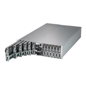 Supermicro 5039MS-H12TRF Xeon® E3-1200 V5 / Core i3 SATA/NVMe Series 12-Node MicroCloud™ Server System
