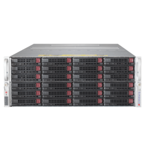 6048R-E1CR24N Xeon® E5-2600 v4 SATA/SAS SuperStorage Server System