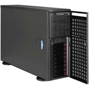 Supermicro® SuperWorkstation 7048GR-TR GPU Dual Xeon® E5 SATA 4U Rack/Tower Workstation