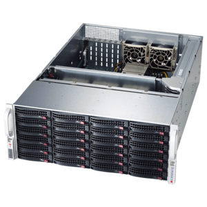 SC846A Dual Xeon® 24x SAS/SATA Series 4U Rack Storage Server