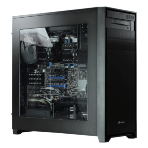 Dual Xeon® E5-2400 Eight-Core Graphics Computer Workstation