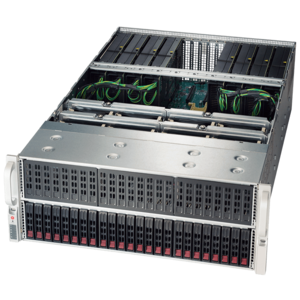 Supermicro® SuperServer 4028GR-TRT Dual E5-2600 v3 4U GPU Rack Server