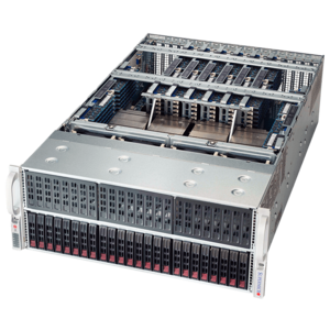Supermicro® SuperServer 4048B-TRFT Quad Xeon® E7 SATA Series 4U Rack Server