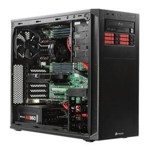 Xeon® E5 C602 Twelve-Core Low-Noise Graphics Computer Workstation