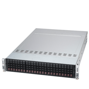 Supermicro® SuperServer 2028TP-DT Quad Xeon® E5 SATA Series 2-Node Server System