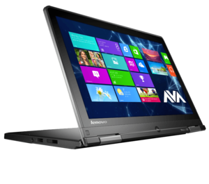 Lenovo Notebook ThinkPad Yoga 12, Intel Core i3, Black, 4GB RAM, Intel HD 5500, IPS HD Display Bluetooth