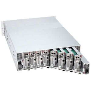 5038MR-H8TRF, Intel® Xeon® E5-2600/1600 v4, SATA HDD/SSD, 8-Node MicroCloud™ Server System
