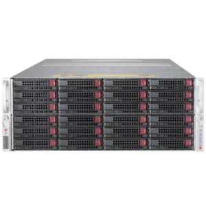 6048R-E1CR36N Xeon® E5-2600 v3 SATA/SAS Series 4U Rack Storage Server