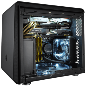 Core™ i7 X99 2-way SLI® / CrossFireX™ Compact Cube Gaming Computer Desktop