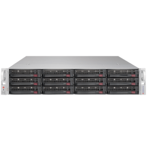 6028R-E1CR12T Xeon® E5-2600 v3 SATA/SAS SuperStorage Server System