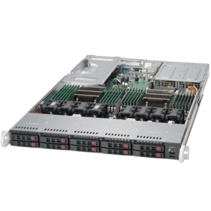 1028U-TN10RT+ Xeon® E5-2600 V3 NVMe Series Server System
