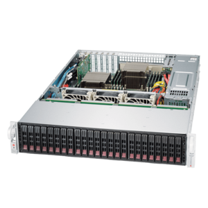 2028R-E1CR24H Xeon® E5-2600 v4 SATA/SAS SuperStorage Server System