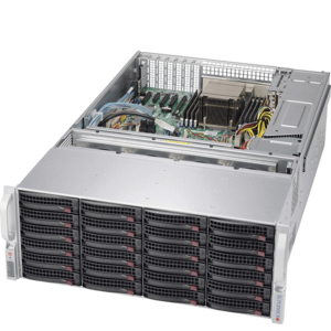 5048R-E1CR36L Xeon® E5-2600/1600 v4 SATA/SAS SuperStorage Server System