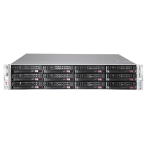 6028R-E1CR12N Xeon® E5-2600 v4 SATA/SAS SuperStorage Server System