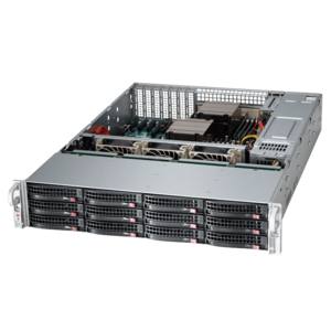 6028R-E1CR12T Xeon® E5-2600 v4 SATA/SAS SuperStorage Server System