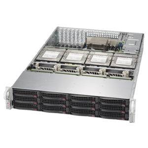 6028R-E1CR16T Xeon® E5-2600 v4 SATA/SAS SuperStorage Server System