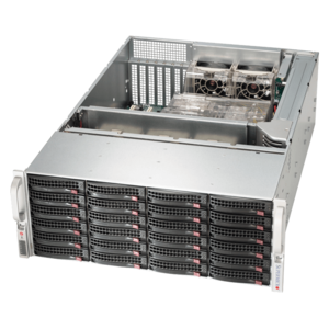 6048R-E1CR24H Xeon® E5-2600 v4 SATA/SAS SuperStorage Server System