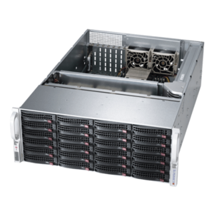 6048R-E1CR24L Xeon® E5-2600 v4 SATA/SAS SuperStorage Server System
