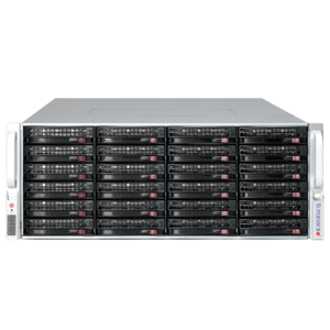 6048R-E1CR36H Xeon® E5-2600 v4 SATA/SAS SuperStorage Server System