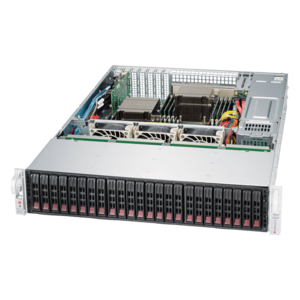 2028R-E1CR24L Xeon® E5-2600 v4 SATA/SAS SuperStorage Server System