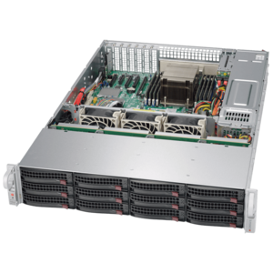 5028R-E1CR12L Xeon® E5-2600/1600 v4 SATA/SAS SuperStorage Server System