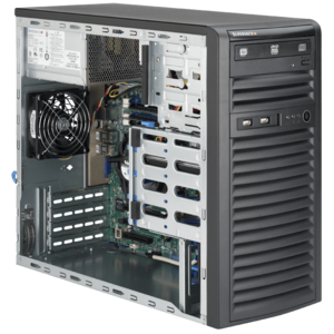 5038D-I Xeon® E3-1200 v3 SAS/SATA Series Tower Server
