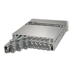 5038MD-H8TRF, Intel® Xeon® D-1541, SATA HDD/SSD, 8-Node MicroCloud™ Server System