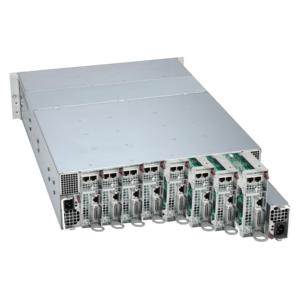 Supermicro 5038ML-H8TRF Xeon® E3-1200 v3/v4 SATA/SAS Series 8-Node MicroCloud™ Server System