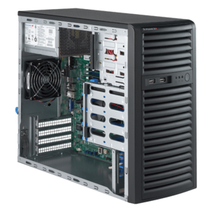 5039D-I Xeon® E3-1200 v5 SAS/SATA Series Tower Server