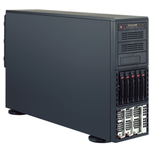 8048B-C0R3FT Quad Xeon® E7-8800 v3 / E7-4800 v3 SAS/SATA 4U Rack/Tower Server
