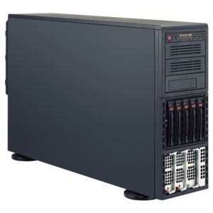 8048B-TR3F Quad Xeon® E7-8800 v3 / E7-4800 v3 SAS/SATA 4U Rack/Tower Server
