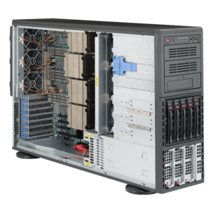 8048B-TR4F Quad Xeon® E7-8800 v4/v3 / E7-4800 v4/v3 SAS/SATA 4U Rack/Tower Server