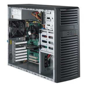 Supermicro® SuperWorkstation 5039A-IL Xeon® E3-1200 v5 Mid Tower Workstation