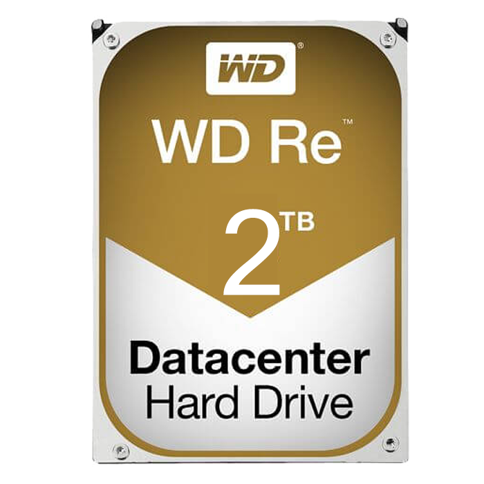 WD Re, 2 TB, Internal Hard Drive, SATA 6Gb/s, 7200 rpm, 128 MB Buffer, OEM