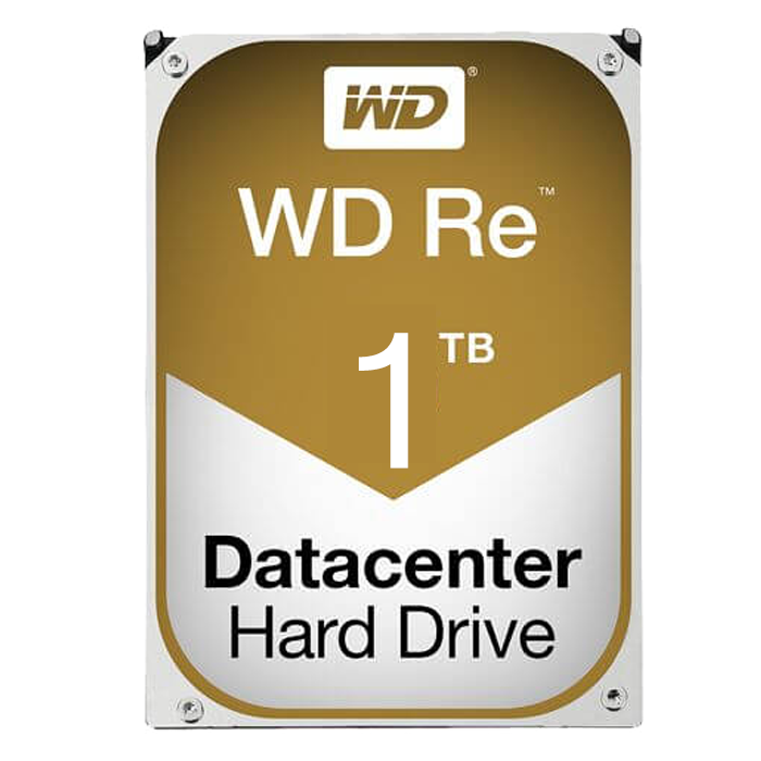 WD Re, 1 TB, Internal Hard Drive, SATA 6Gb/s, 3.5 Inch, 7200 rpm, 128 MB Buffer, OEM