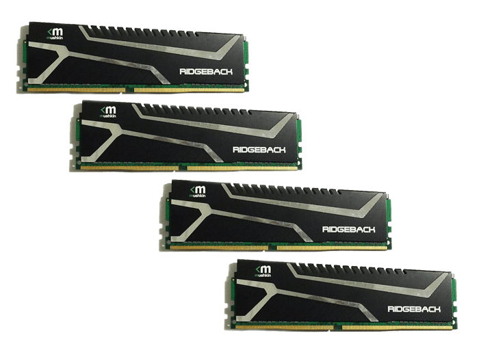 Enhanced Blackline 32GB (4 x 8GB) 288-Pin SDRAM UDIMM DDR4 2133MHz CL12 (PC4 17000) Desktop Memory