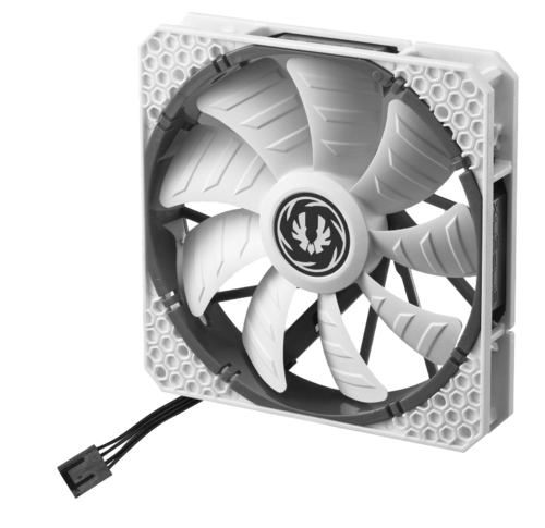 Spectre Pro PWM 120mm Case Fan, 500-1800 RPM, 70.52 CFM, 26.1 dBA (White)