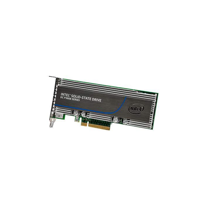 Intel® SSD DC P3608 Series 1.6TB PCIe 3.0 x8 NVMe Solid State Addon Card