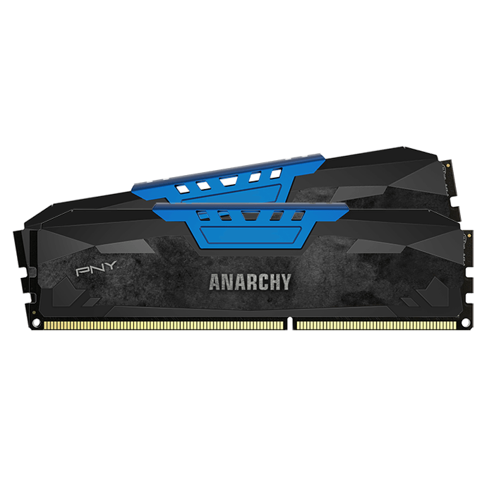 Anarchy® 8GB Kit (2 x 4GB) 240-Pin Blue PC3-17000 DDR3 2133MHz SDRAM DIMM CL10 NON-ECC 1.65V Memory
