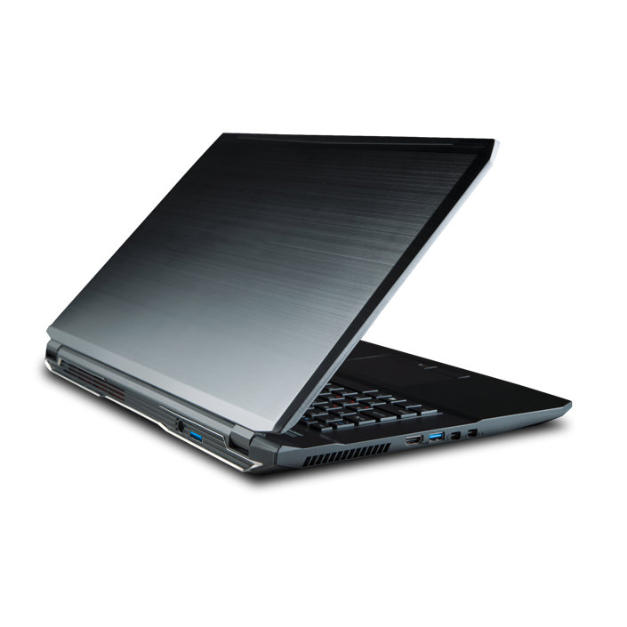 P673RG-S Core i7 Notebook Barebone, Intel® HM170, 17.3