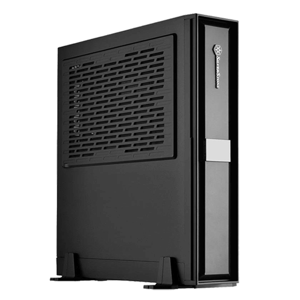 Milo Series ML08 Black, No PSU, SFX, Plastic/Steel, Mini-ITX, Slim Computer Case