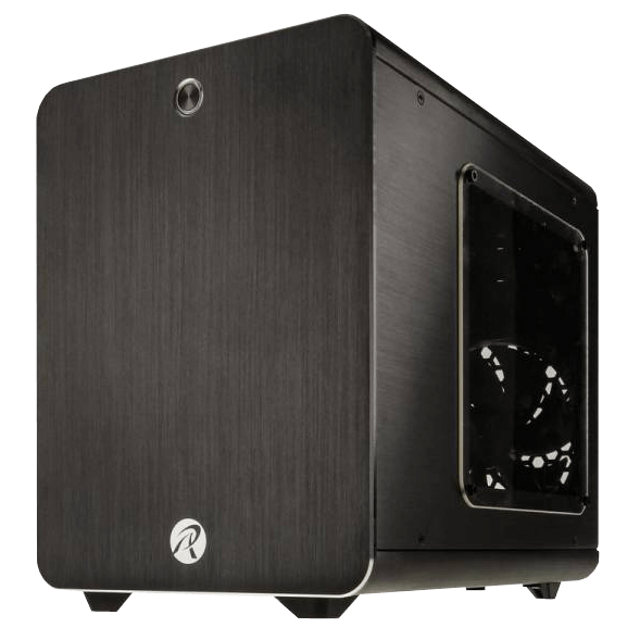 Metis w/ Window, No PSU, Mini-ITX, Black, Mini Tower Case