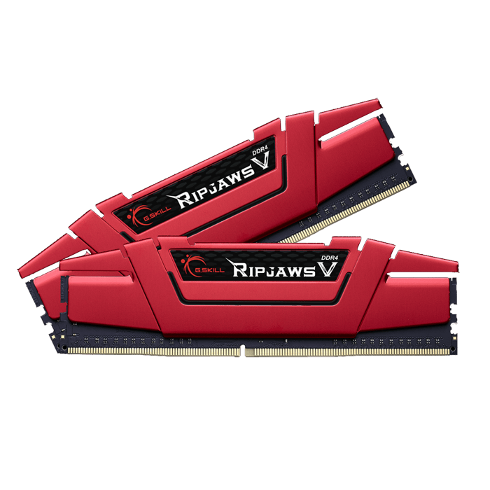 Ripjaws V Red Series 32GB (2 x 16GB) 288-Pin DDR4 2133MHz SDRAM CL15 (PC4 17000) Desktop Memory