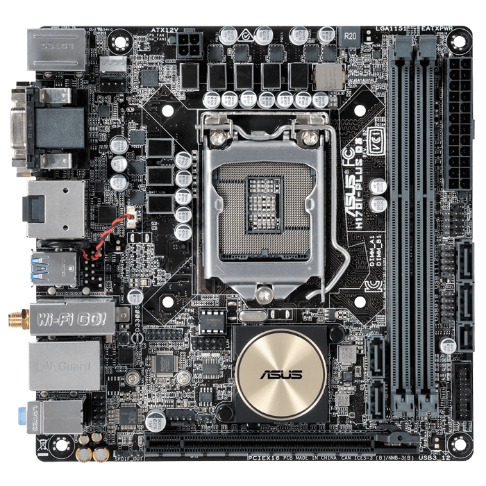 H170I-PLUS D3 Intel® H170 Chipset Socket LGA 1151 DDR3 32GB Mini ITX Desktop Motherboard