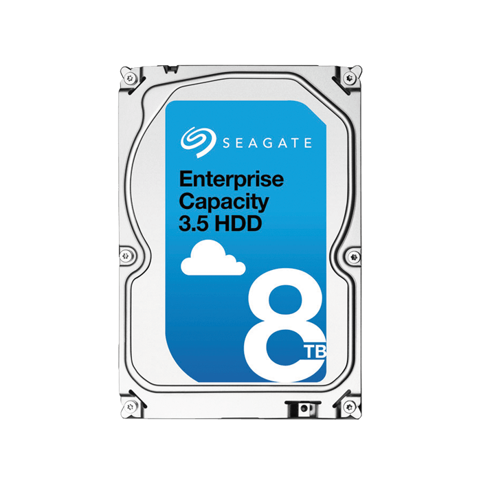 8TB Enterprise Capacity ST8000NM0045, 7200 RPM, SATA 6Gb/s, 4KN, 256MB cache, 3.5-Inch, OEM HDD