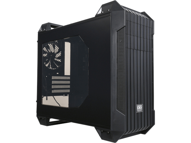 Vanguard EN5872 Black Steel/Plastic Micro ATX Mid Tower Computer Case